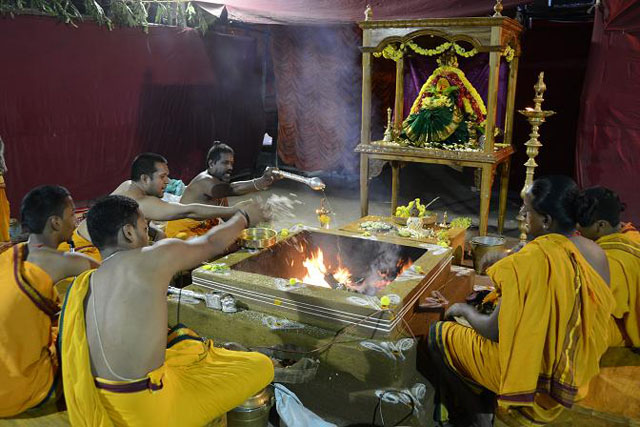 Sri Narayani Maha Yagam at the Sri Narayani Peedam
