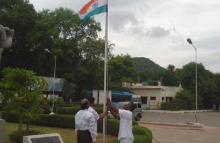 SNH&RC – Independence Day Flag Hoisting