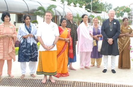 India's Independence Day at the Sripuram
