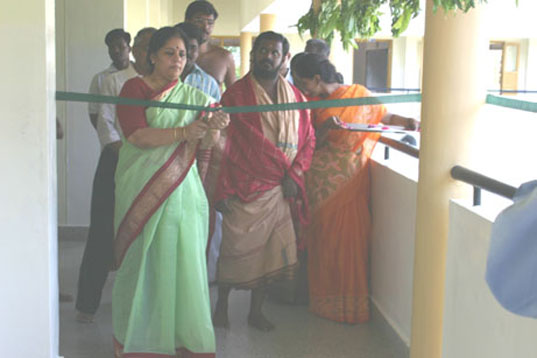 3 -Chief Guest cuts the Ribbon