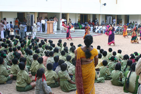 5 -School students perform a Dance Opening 6