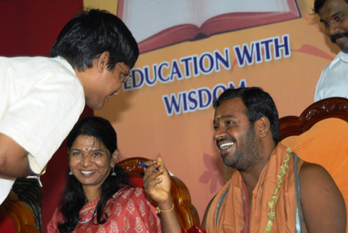 Amma's divine words to the student