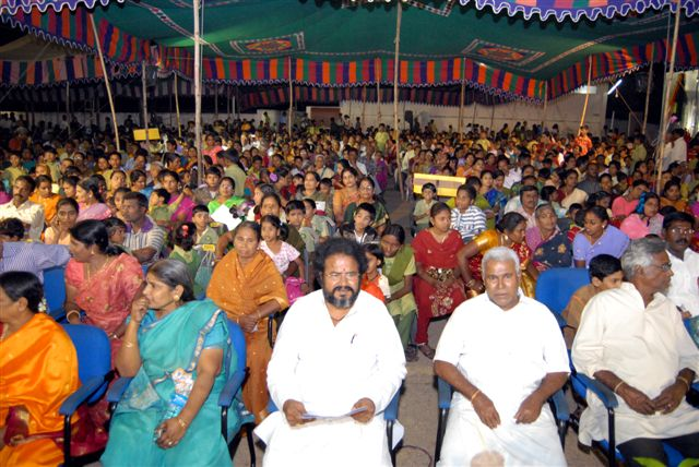 Several members of The Sri Narayani Peedam attended the function
