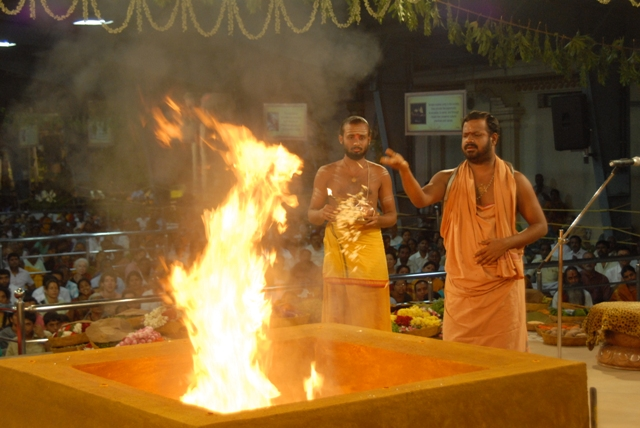Sri Sakthi Amma adds the first offering