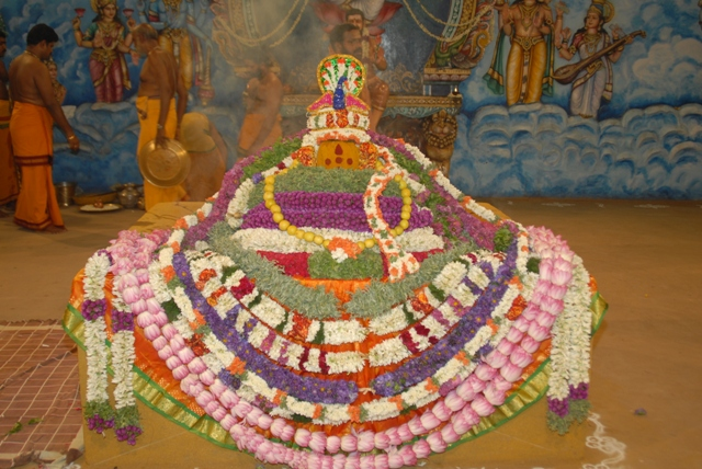 Beautifully decorated Yagam