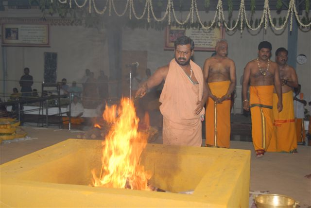 Beloved Amma adds ghee to the fire