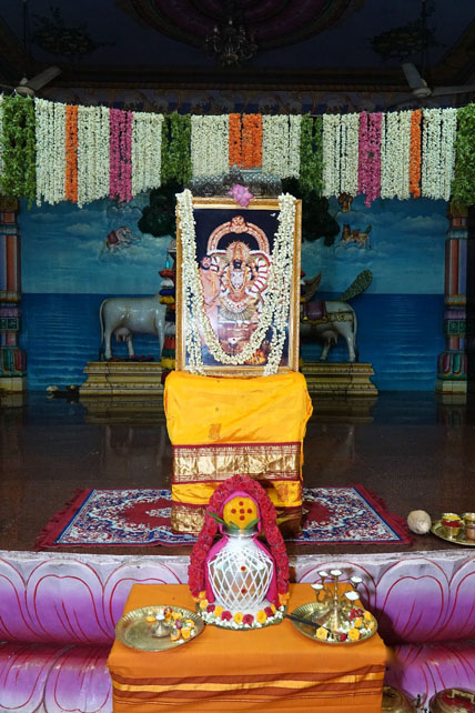 Kalasam ready for the puja