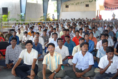 Male Students at the V Nethram Function Aug 17 08