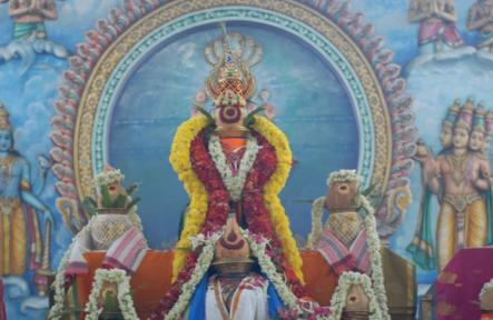 Sri Sahasra Chandi Yagam – Peedam Day 6