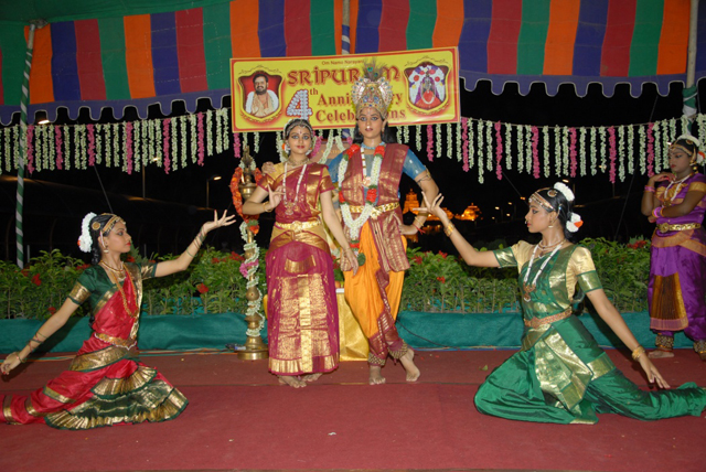 Story of Lord Krishna in the form of Bharatanatyam