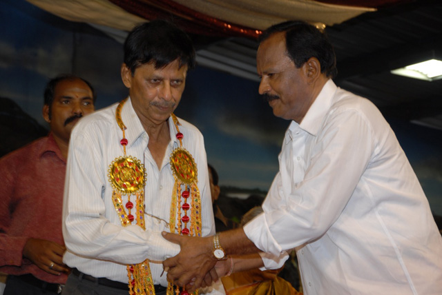 Exnora President Thiru Nirmal is being honoured on this special occasion