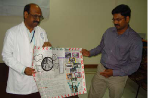 Selection of winning posters on AIDS