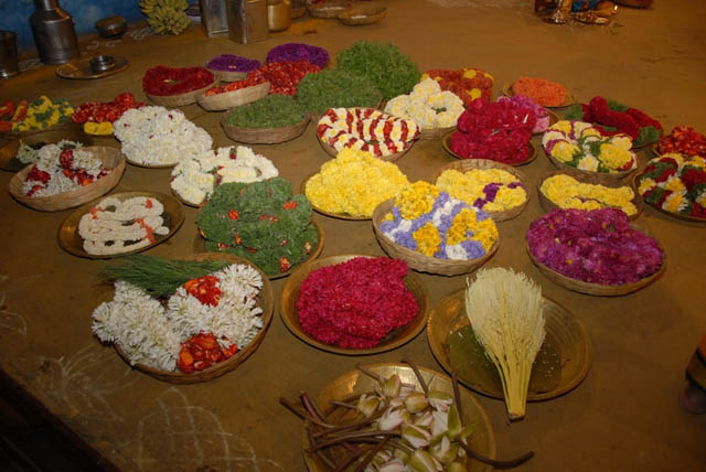 Various offerings for the yagam