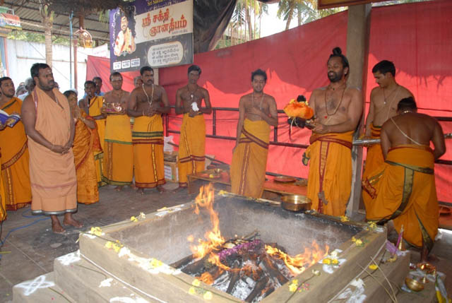 Poornahuthi and Divine blessings of Sri Sakthi Amma