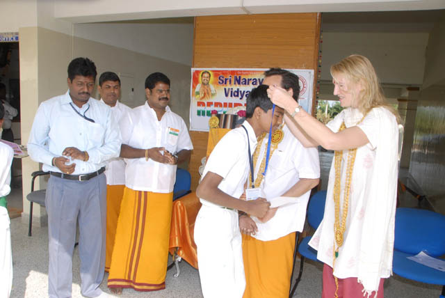 Various medals for excellence were awarded to the students