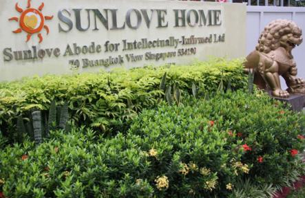 Amma's Visit to the Sunlove Home in Singapore