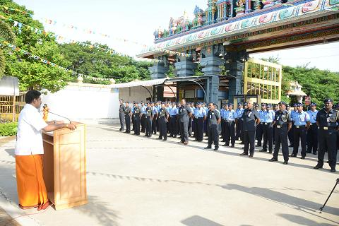 Director addresses the Security Personnel