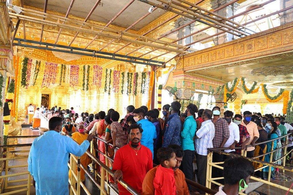 Sripuram on New Years day